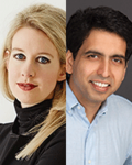 Image - Elizabeth Holmes, CEO of Theranos, in Conversation with Sal Khan