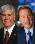 Image - Rick Snyder and William Clay Ford: Growing the U.S. Economy