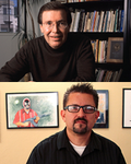 Image - Francisco Jiménez and Lalo Alcaraz