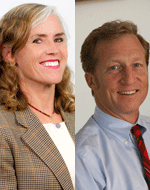Image - Kat Taylor and Tom Steyer